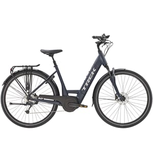 TREK Verve+ 4 Lowstep 500WH STR M Matte Nautical Navy 2021