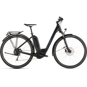 CUBE TOURING HYBRID 400WH EASY ENTRY black´n´blue