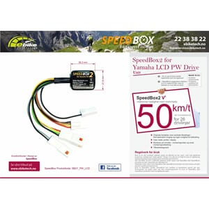 SpeedBox2 V2 Edition for Yamaha PW Drive Unit LCD / LED