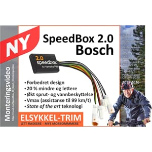 SpeedBox2 El sykkel Tuning - for Bosch Active/Performance/CX