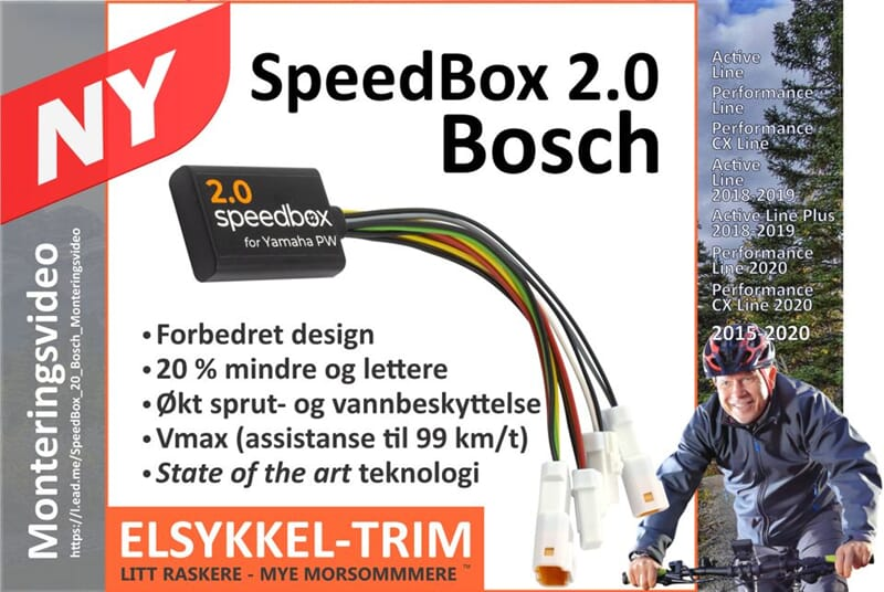 speedbox2 el sykkel tuning for bosch activ performance. Black Bedroom Furniture Sets. Home Design Ideas