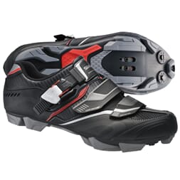 SHIMANO SKO MTB XC50 SPD SORT/RØD SPD ALL-SEASON