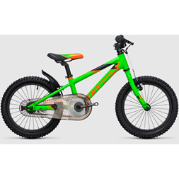 "CUBE KID 160 flashgreen´n´orange 16"" 8,1kg"