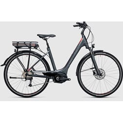 CUBE TOURING HYBRID 500wh BOSCH CX grey´n´flashred 2017