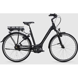 CUBE TRAVEL HYBRID RT 400 SORT/HVIT 8GIR PEDALBREMS