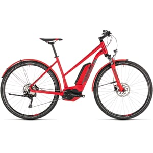 CUBE CROSS HYBRID PRO 500 ALLROAD TRAPEZ  red´n´grey