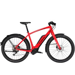 Trek 45 km/t Super Commuter + 8S 45kmh Viper Red