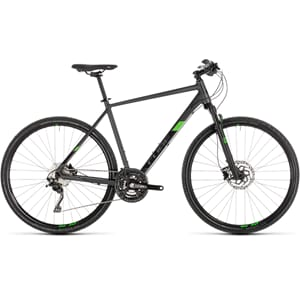 CUBE Cross Pro Shimano XT  iridium´n´green 2019