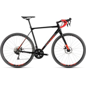 CUBE Cross Race disc 105 Cyclocross  black´n´red 2019