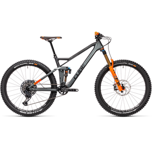 CUBE Stereo 140 HPC TM 27.5 flash grey´n´orange 2021