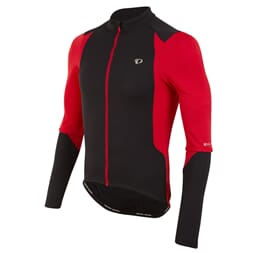 Pearl Izumi Trøye Select Pursuit LS black/true red