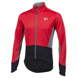Pearl Izumi Jakke Elite Pursuit Softshell true red/black