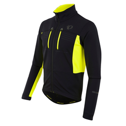 Jakke Elite Escape Softshell black/screaming yellow XL